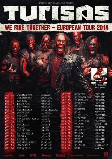 Turisas WeRideTogether 2014